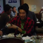 小川君忘年会に続きサンキュー。