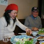 小池さん、中垣さん。中垣さんは、以前アメリカ研修の時に出会いました。 岡山県から本日は参加していただきました。本当にありがとうございます!