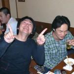 本日歯が1本無い仲山さん(笑)、佐藤さん。