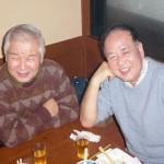中垣さん。本日も岡山より来て頂きありがとうございます。 Device長老コンビです。