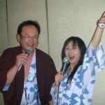 松原さんとデュエット!もちろん演歌です!