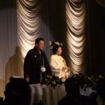 2007年2月3(土)大西様結婚式です。