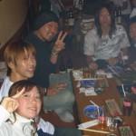 2006年10月7日(土)Device飲み会です。 本日は44名のお客様、皆様に集まって頂きました。 浜松より、前田夫婦も久々に参加していただきましてありがとうございます!