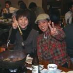 ごっちゃんカップルも中津川から来ていただきました。