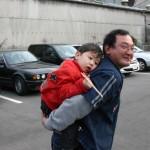 松原さん、みんな休日はお父さんです。