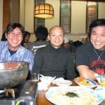 片岡さん・新屋さん・青木さんみんないい笑顔だね。