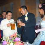 松野下さん・下ちゃんと乾杯!